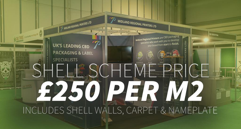 shell scheme price £250 per m2